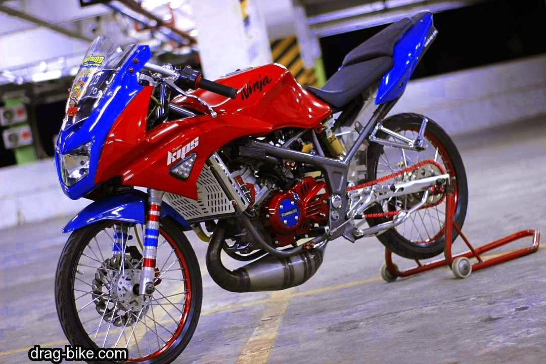 Modif Ninja Rr Jari Jari Full Modif Thailook Style Kawasaki