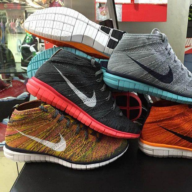 Nike Free Flyknit Chukka 2015 Samples