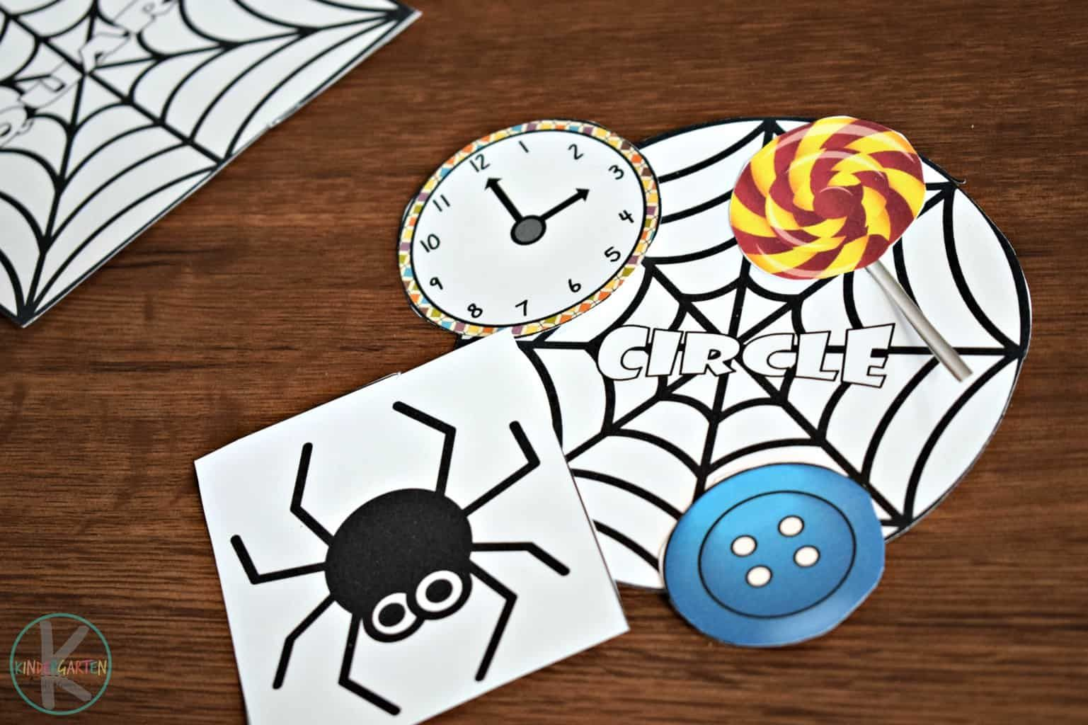 Kids Will Have Fun Sorting Items By Shapes With This Free