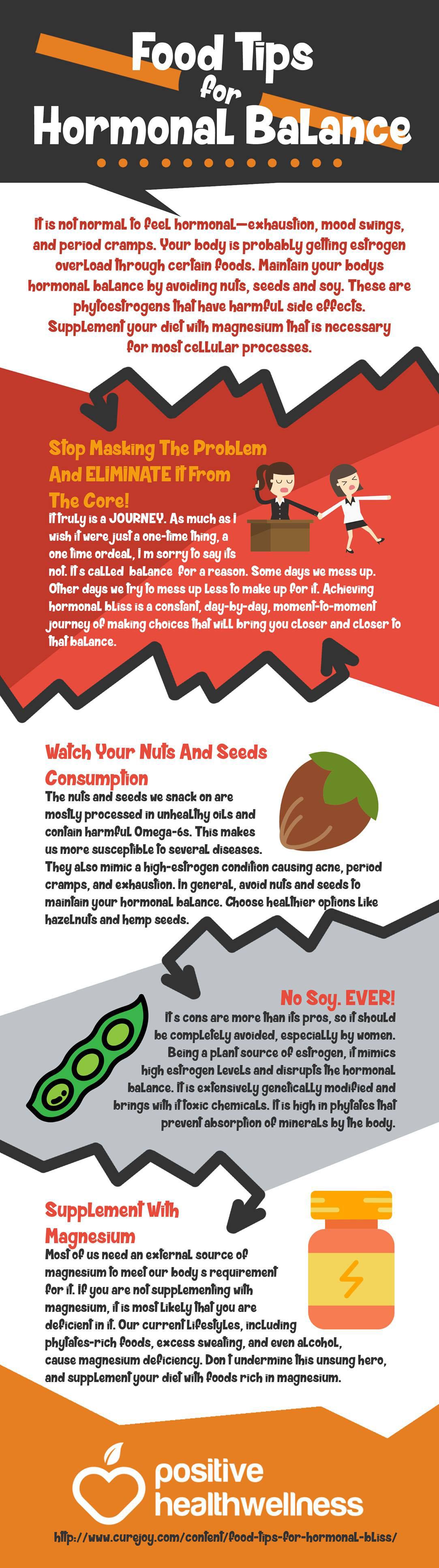 Food Tips for Hormonal Balance Positive Health Wellness