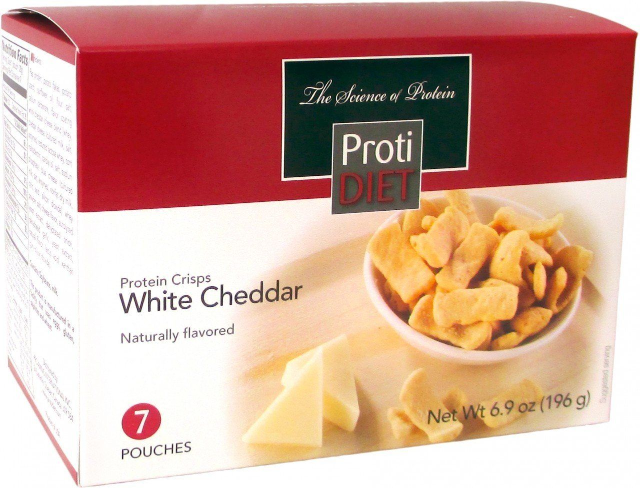 Protidiet White Cheddar Crisps Cheddar And Products
