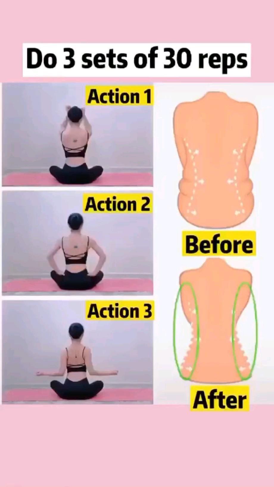 reduce back fat | slim waist workout video | back workout | shoulder workout | upper body workout