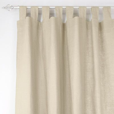 "Brite Ideas Living Jefferson Single Curtain Panel Size: 52"" W x 96"" L"