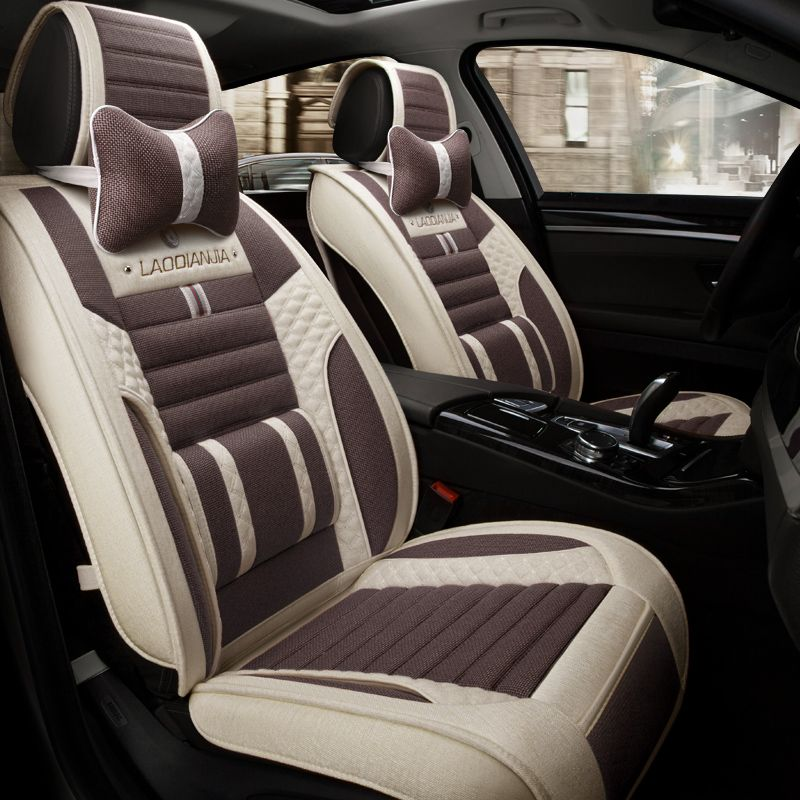 3D Car Seat Cover General Cushion Fiber Hemp Car-Covers,Car Styling For Mazda 3/6/2 MX-5 CX-5 CX-7