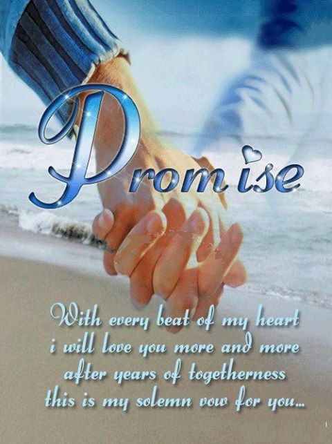 Promise love quotes quotes in love love. holding hands ...