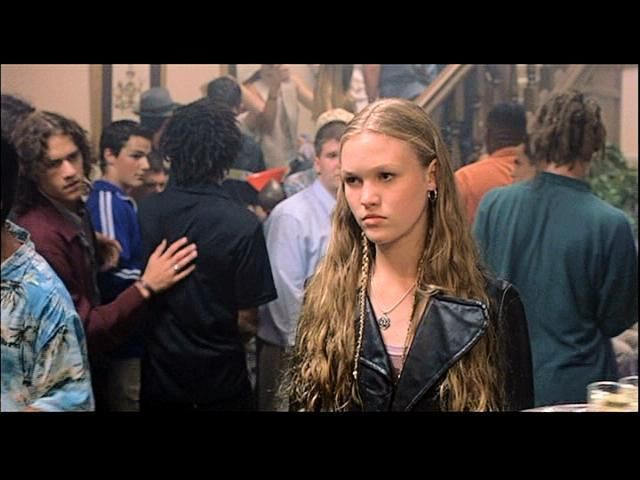 10 Things I Hate About You Movie Scenes: Julia Stiles 10 Things I Hate About You XD Favorite Scene