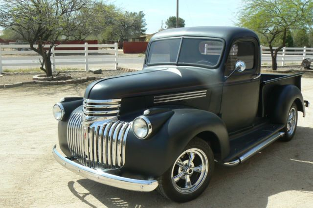 1946 Chevrolet Pickup Truck Chevy 350 700r4 Restored Powder Coated