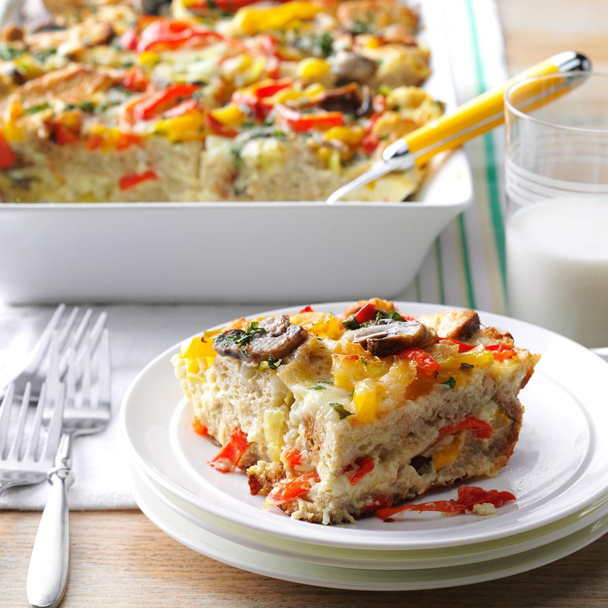 Veggie Packed Strata Recipe: Herbs Create And Smell