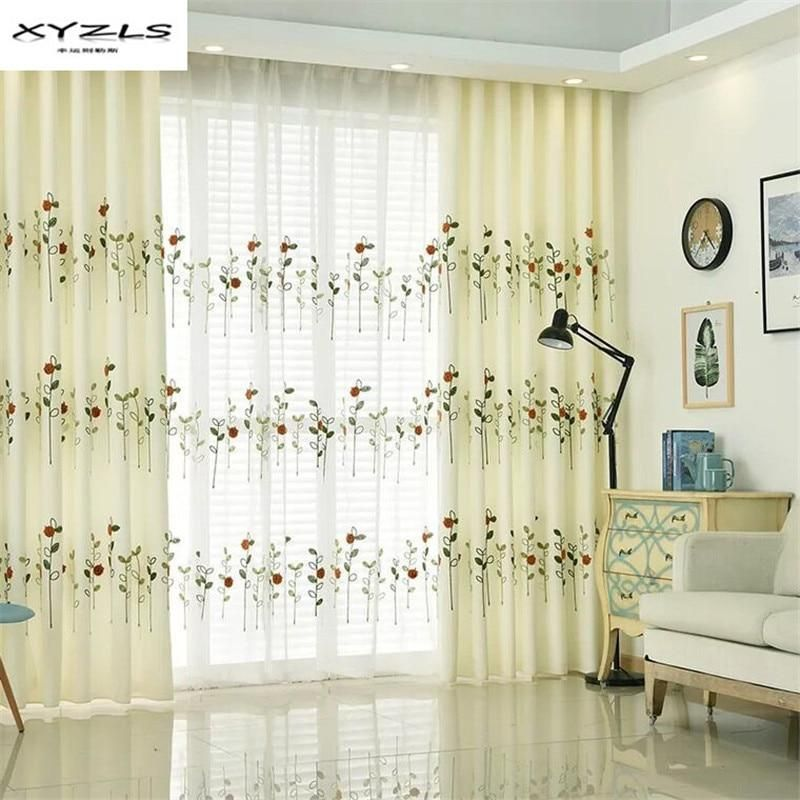 XYZLS Pastoral Embroidered Semishading Curtains for Living Room Bedroom Plants Ladybugs Window  US $14 64 is part of Kids bedroom Plants - XYZLS Pastoral Embroidered Semishading Curtains for Living Room Bedroom Plants Ladybugs Window Drapes for Kids Room   Price history  Category Home & Garden  Subcategory Home Textile  Product ID 32827713237  US $14 64