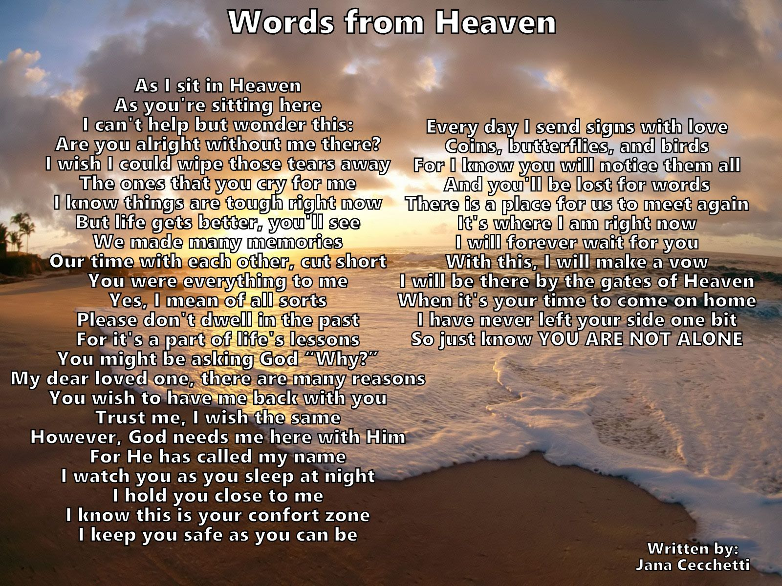 Words From Heaven