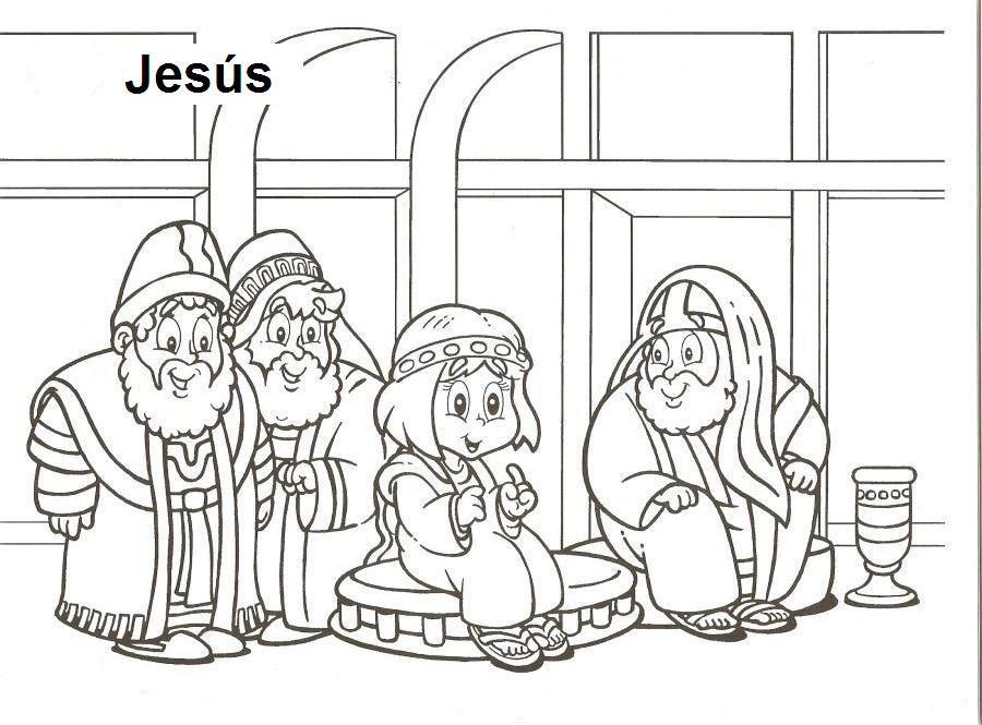 dibujos para colorear en la escuela dominical - Buscar con Google ...