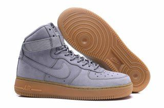Mens Womens Nike Air Force 1 High WB GS Suede Medium Grey