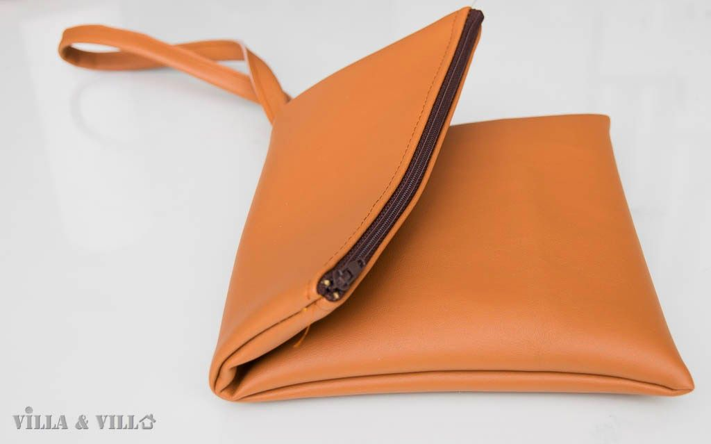 Villa ja Villa: DIY fold over clutch