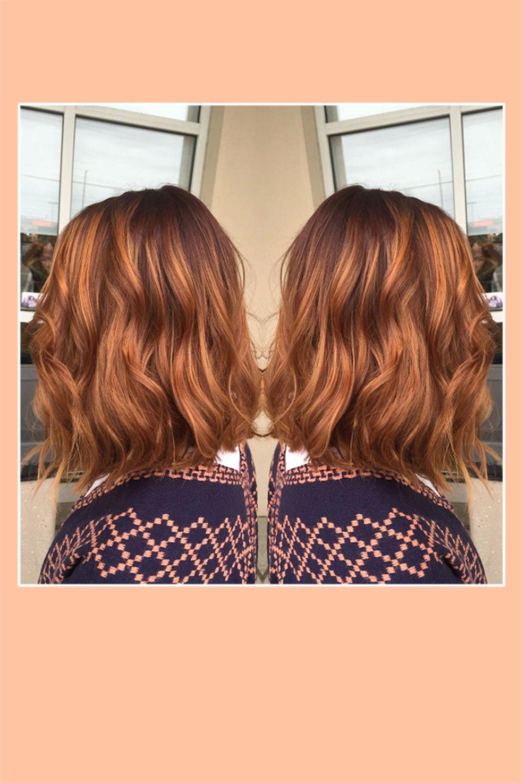 Rotbraune Haare Trend Pumpkin Spice Hair Bauté Pinterest