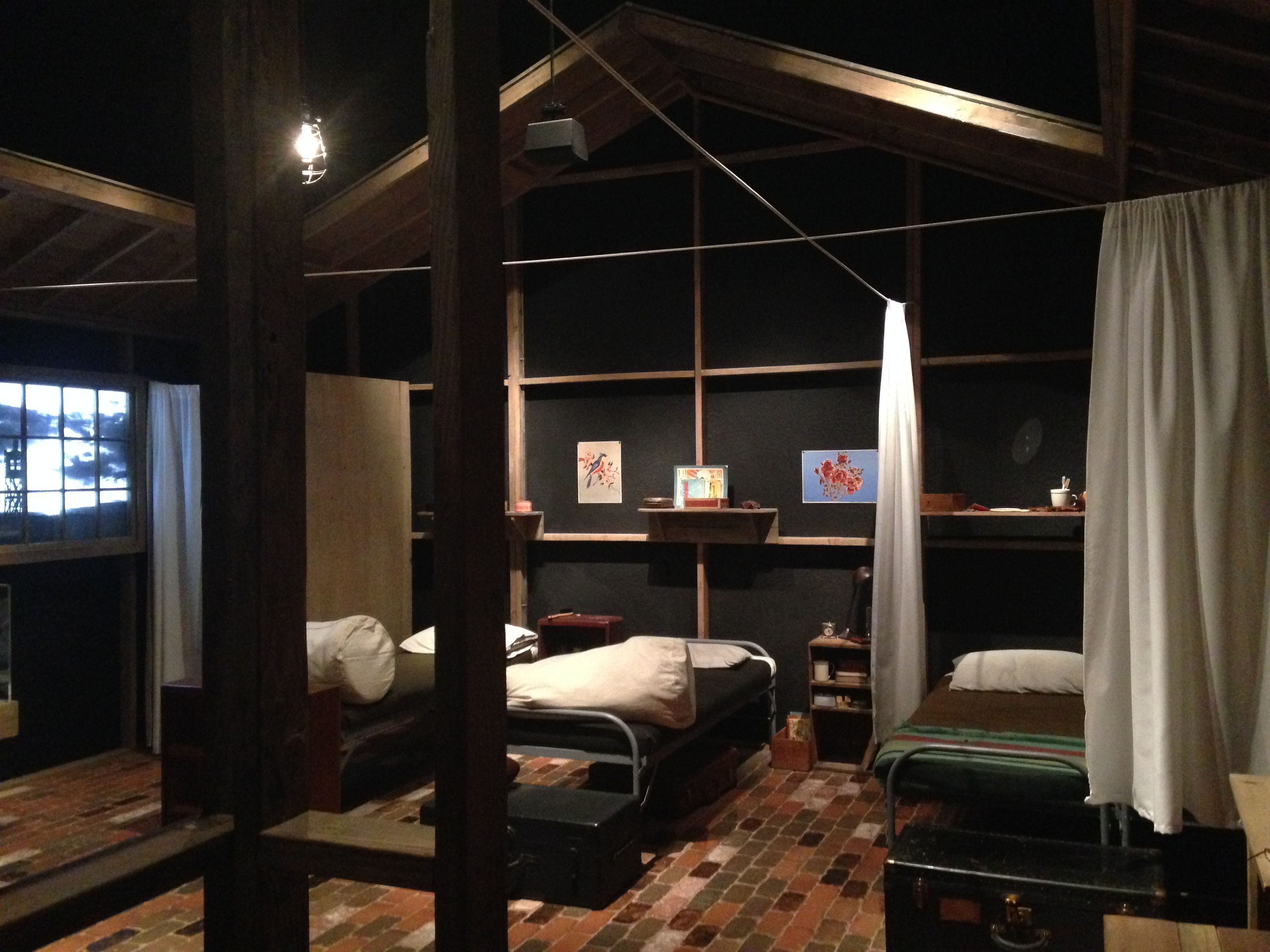 Fully interactive permanent exhibition space reproducing lodging in