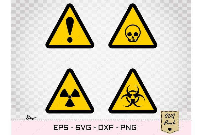Biohazard Svg And Radiation Toxic Symbol Set By Svgpouch Thehungryjpeg Com Symbols Svg Biohazard