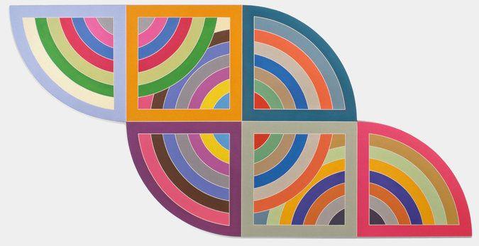 "Harran II,"" 1967. Credit Frank Stella/Artists Rights Society (ARS), New York."