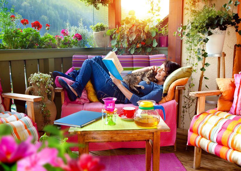 balkon home pinterest balkon terrasse und. Black Bedroom Furniture Sets. Home Design Ideas