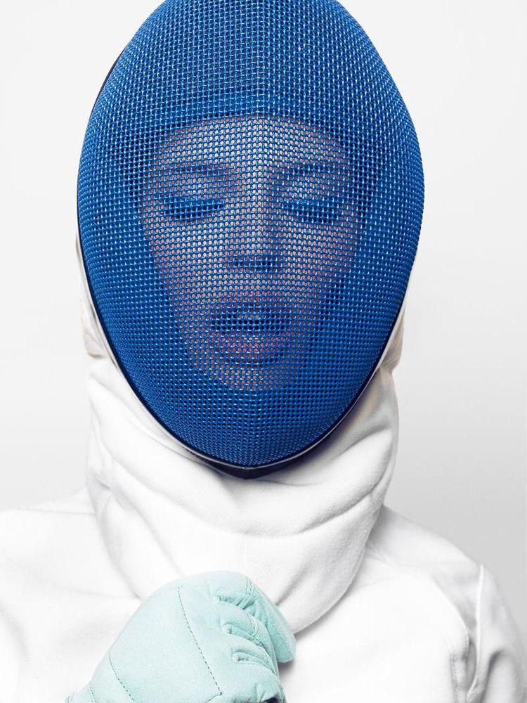 Fencing Mask Novia Pinterest Esgrima Moda Y Color