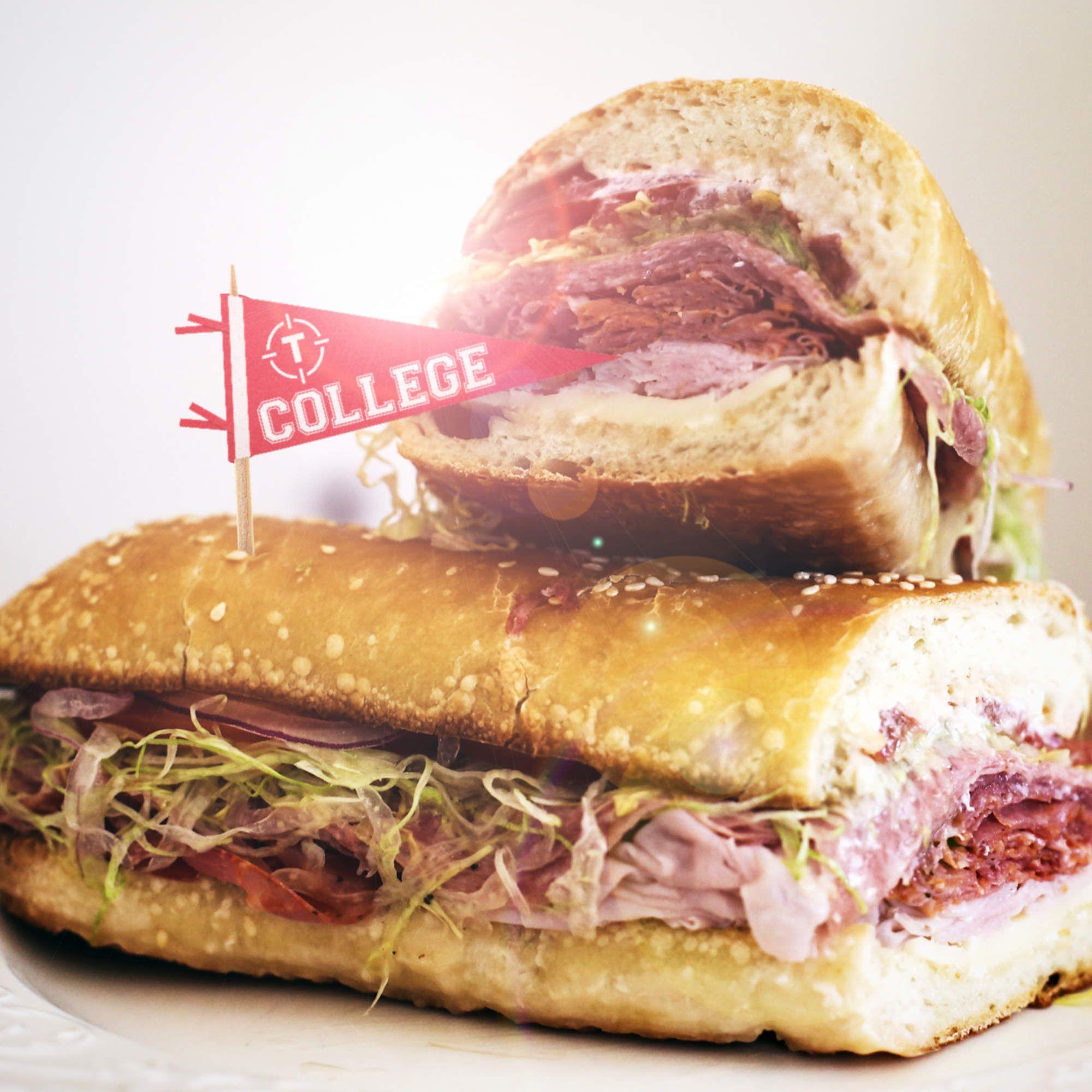 White apron sandwiches dc menu - The 30 Best College Sandwich Shops In America