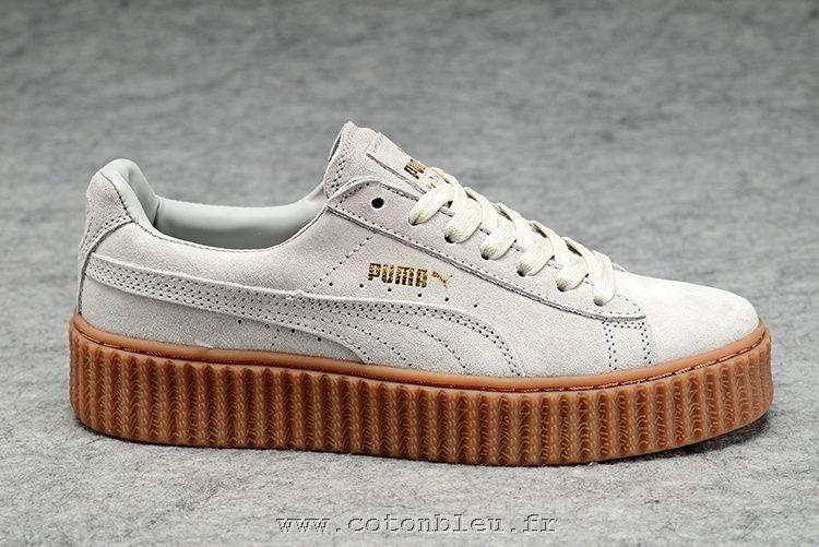 puma fenty creeper blanche