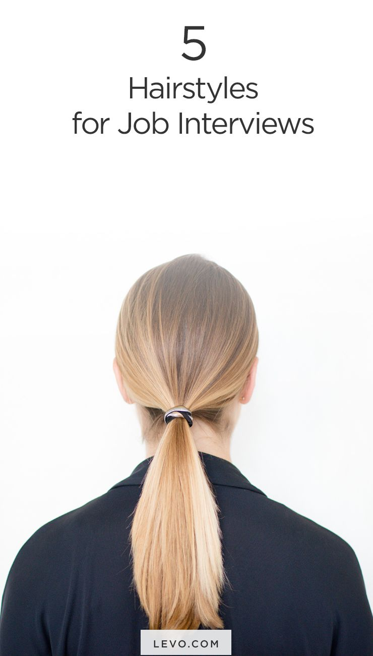 5 power hairstyles that will wow in *any* interview | style