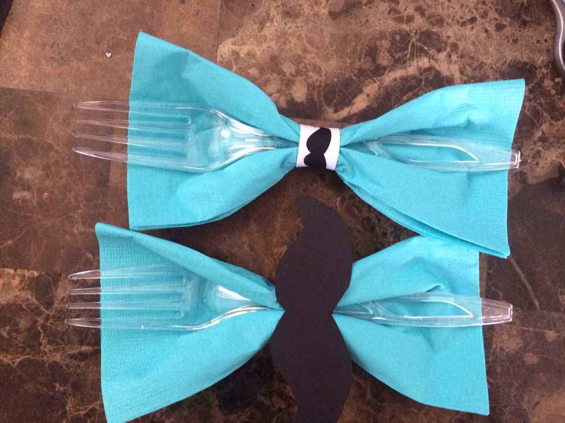 Bow Ties and Mustaches Baby Shower