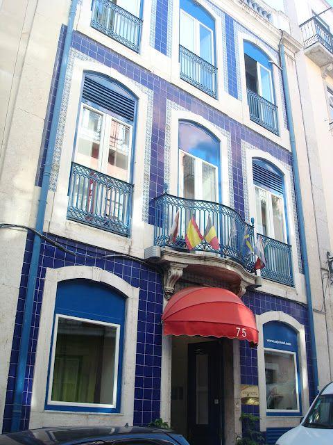 Blaue Häuser das pausenblog cheira bem nach lissabon das blaue haus aus