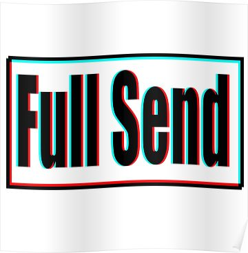 Full Send Poster By Kat21 In 2020 Art Collage Wall Poster Wall Collage