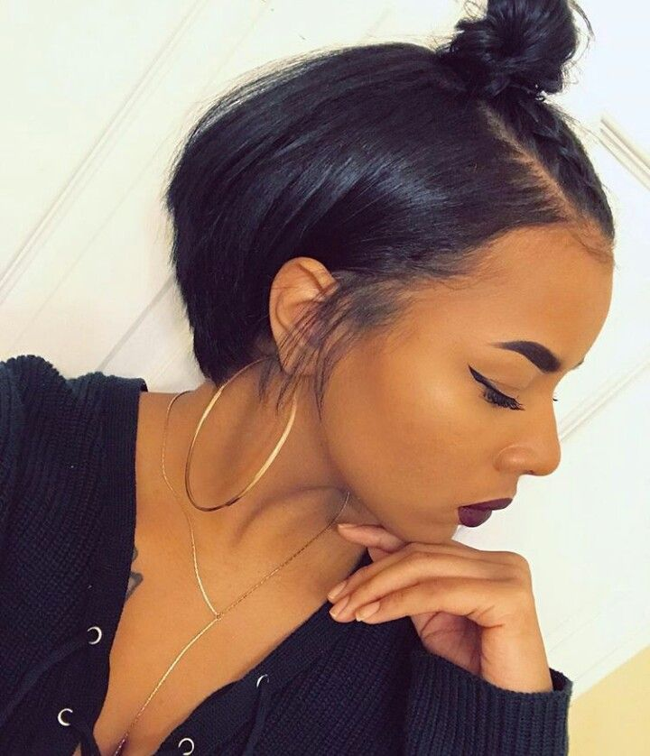 Cute Hairstyles For Short Straight Hair Black Girl Anexa Beauty