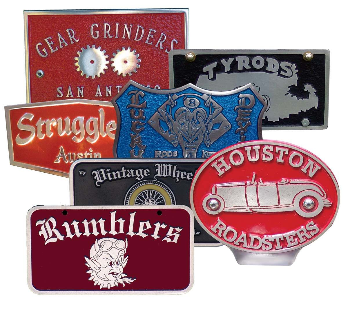 Garage Art Neon Signs Car Club Plaques Inspiration Roadster Club Pinterest