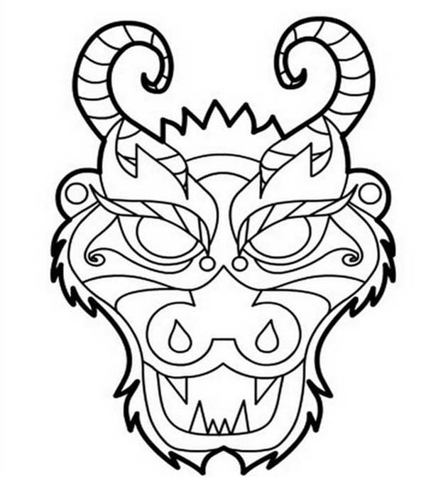 Dragon Boat Festival From Ancient China Time Coloring Page