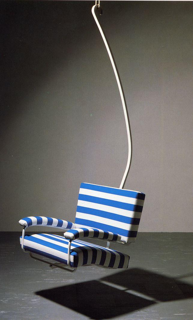 Poltrona seggiovia / chairlift seat, Franco Albini, ricostruito a ...