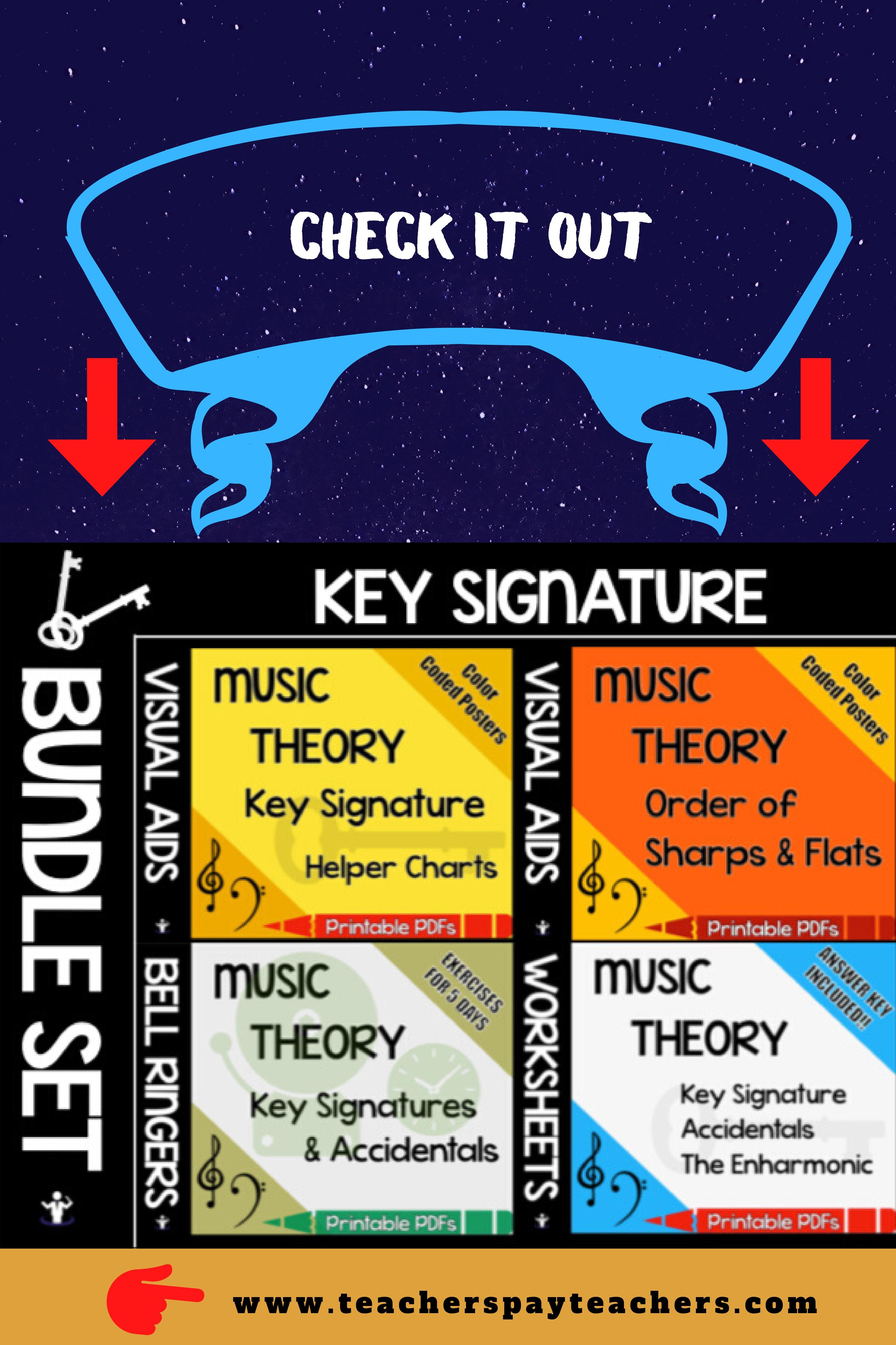 The Key Signature Bundle Set In