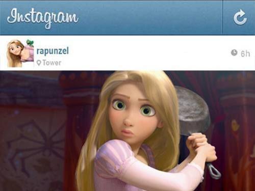If Disney princesses had Instagram 12 photos