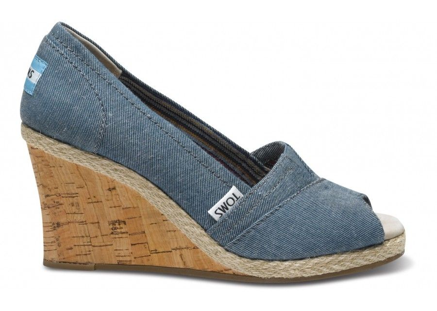 a3012d5bc74 TOMS Women s Wedges are comfortable   stylish wedges. With every pair you  purchase