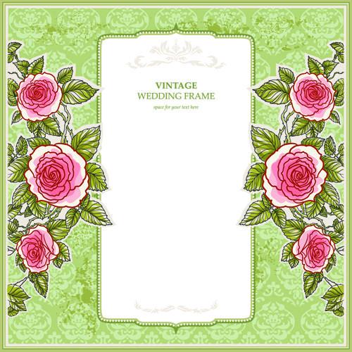 Flower Wedding Invitations 02 Design Stuff Pinterest