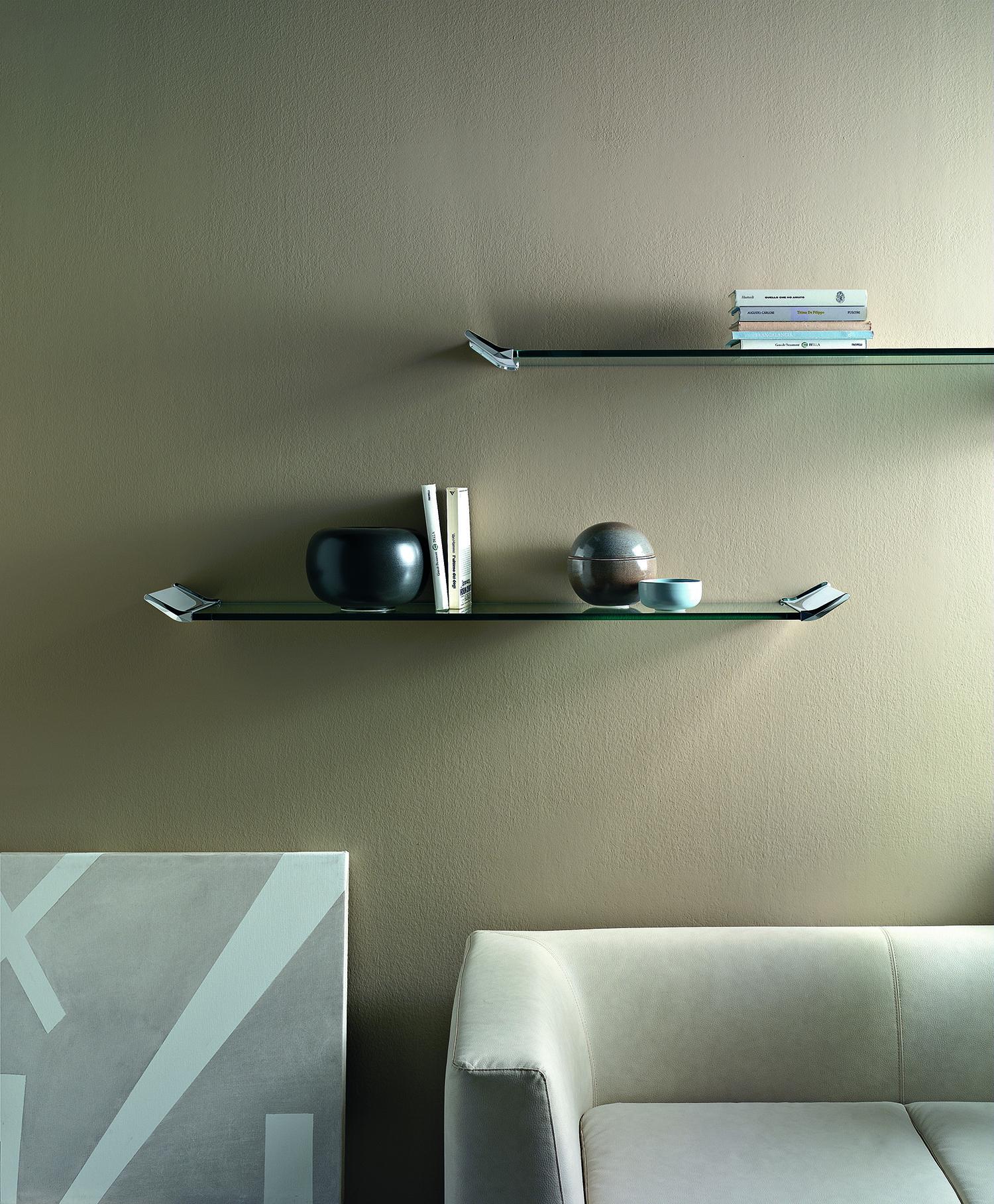 Lala Glass Shelf by Tonelli | Tonelli | Pinterest | Glass shelves ...