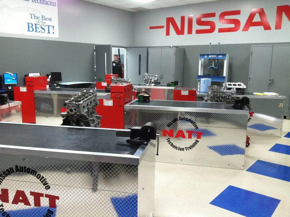 Check out the Nissan Advanced Technician Training (NATT