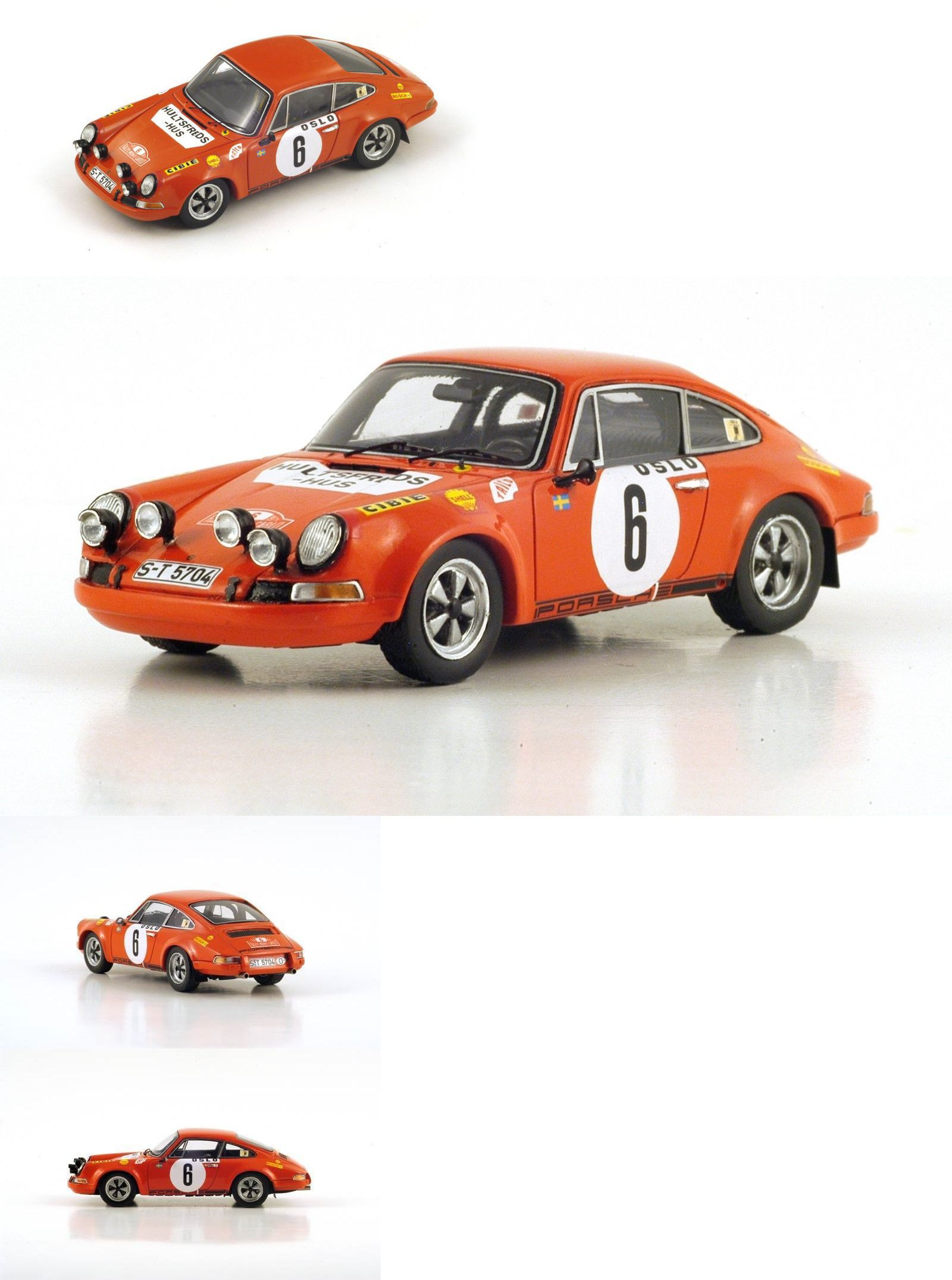 Rally Cars S4023 Spark 1 43 Porsche 911S 6 Winner