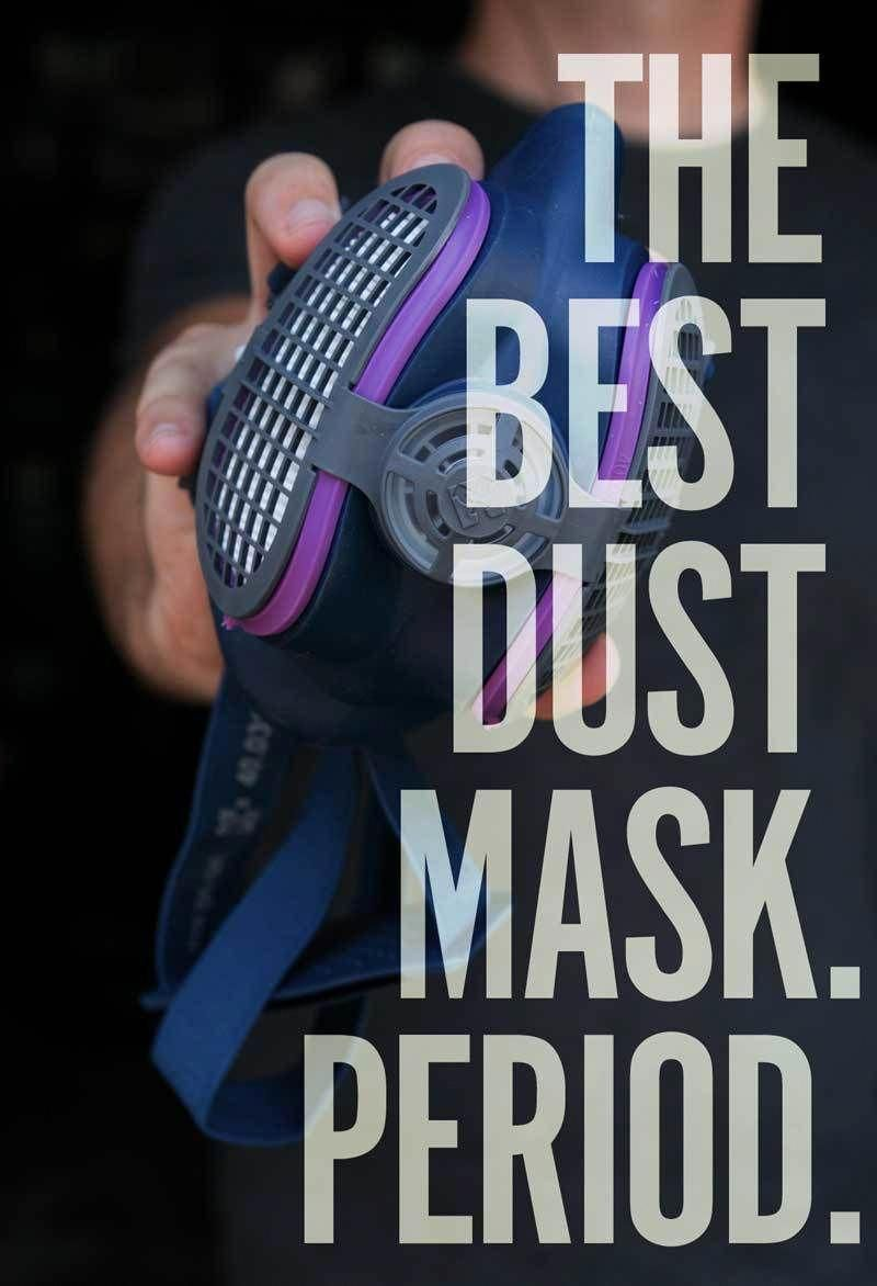 ManMade Re mended This is Hands Down the Best Dust Mask for