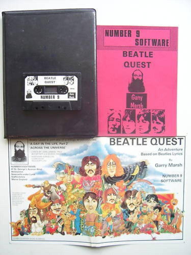 Beatle Quest Commodore 64 ULTRA  RARE Classic Game