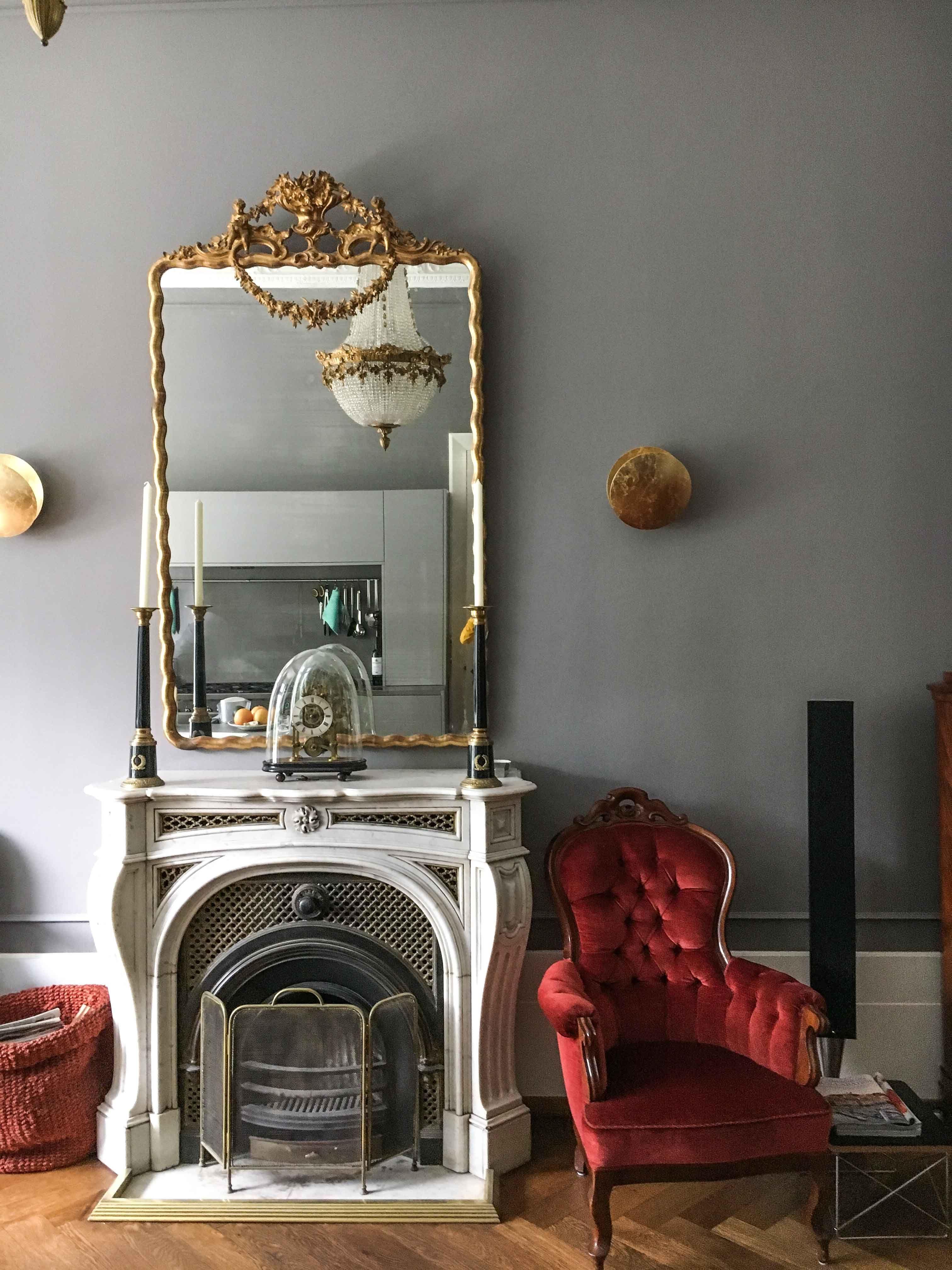 Dieses Wohnzimmer se Küche wurde in Manhattan58 gestrichen annavonmangoldt kreidefarbe