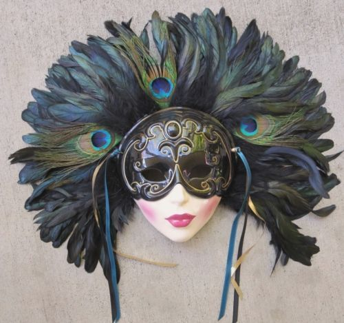 Porcelain Masks Decoration Classy Collectible Porcelain Face Masks  Clay Art Ceramic Decorative Inspiration Design