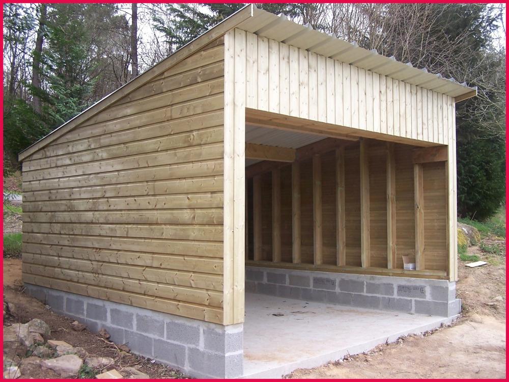 Cout D Un Garage En Bois Prix Parpaing De 20 M2 11 Installation