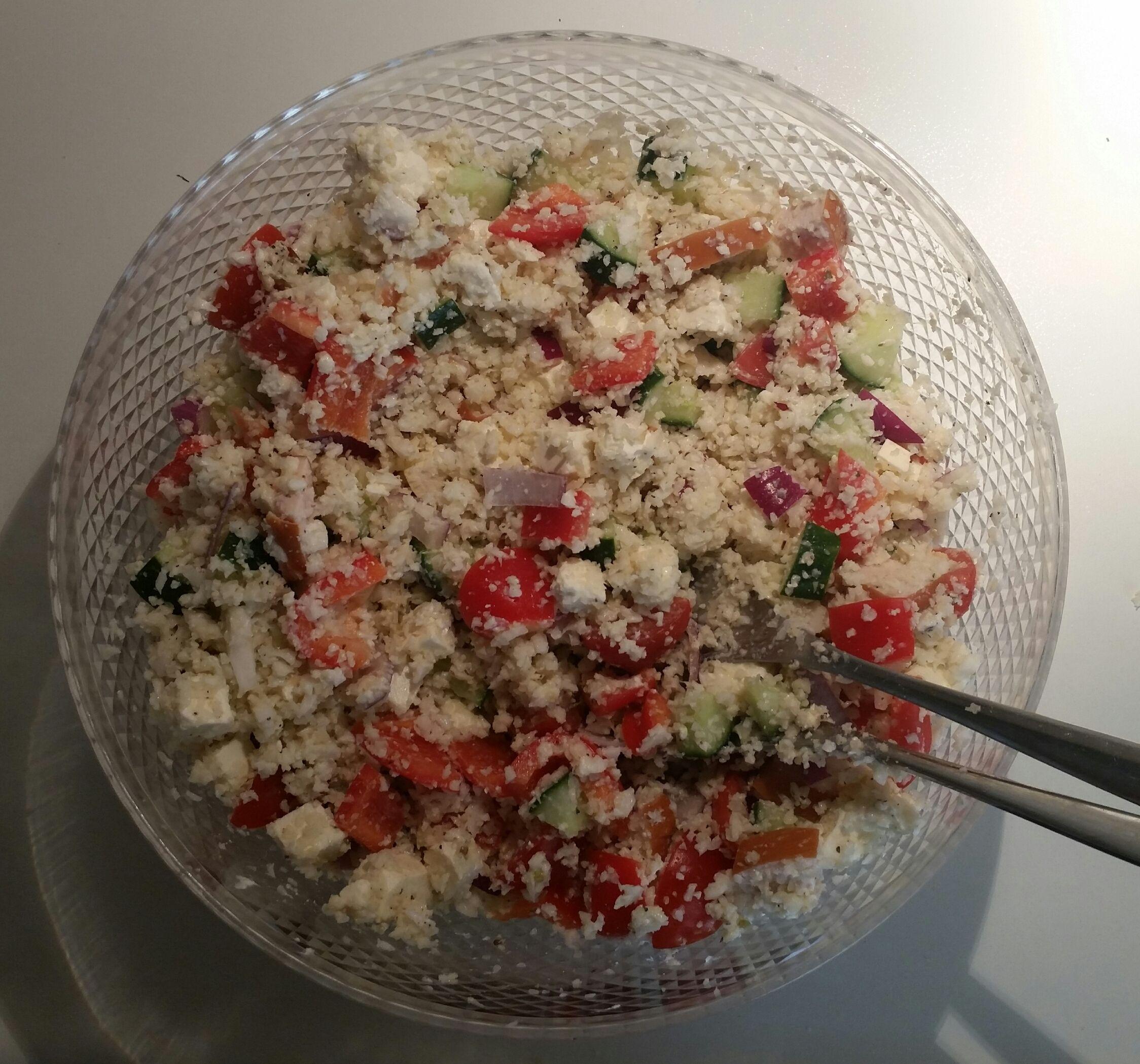 koolhydraten salade