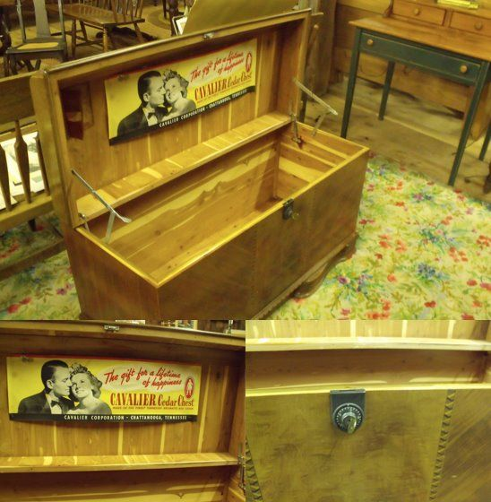 Cavalier Cedar Chest Made In Tennessee This Is Very Beautiful And Like Brand New Thepointbarnantiques