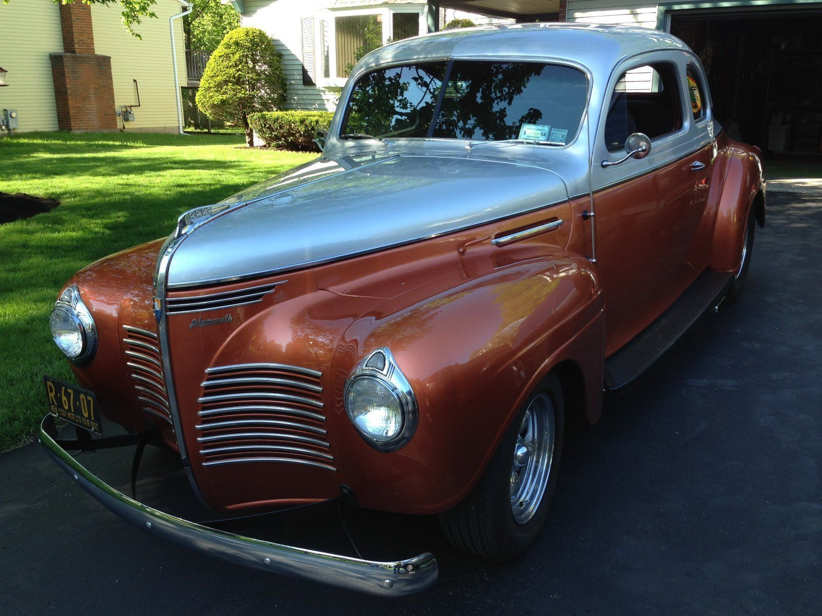 1940 Plymouth Business coupe Streetrod Plymouth, Coupe