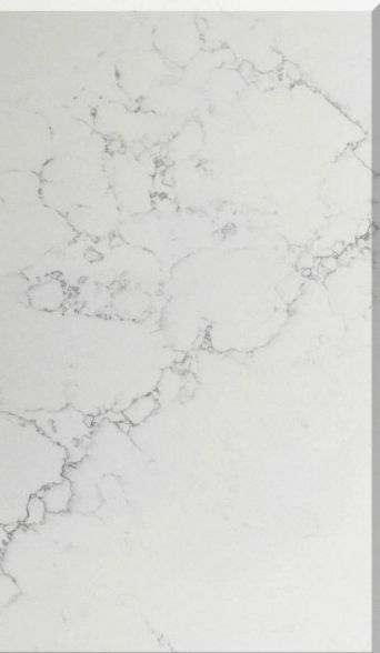 M48 Bianca Carrina Quartz Slab From Leadstone Suit For Kitchen
