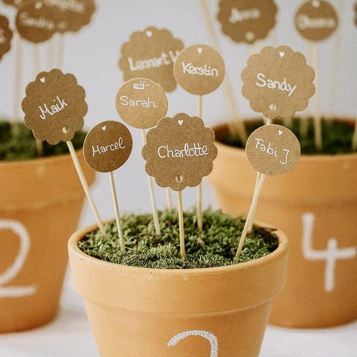 35 kreative DIY Sitzplan Ideen für die Hochzeit – Hochzeitsbox